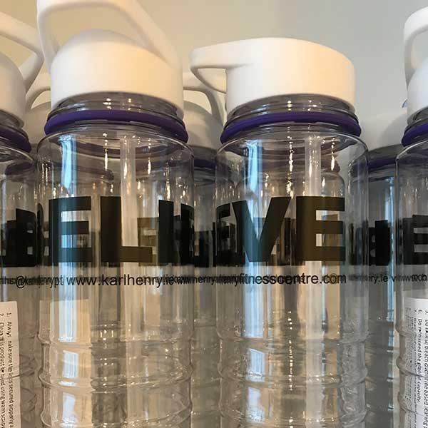 Karl Henry Health 800ml water bottle